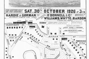 Sydney cultural heritage consultants c041090175 bishopcourts estate 1926 outline